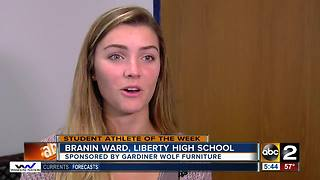 Student Athlete of the week: Branin Ward