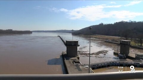 Ohio River floodgates are up, so why is there still flooding?