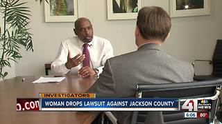 Woman drops lawsuit against Jackson County - Video