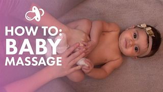 How To: A relaxing baby massage - Video
