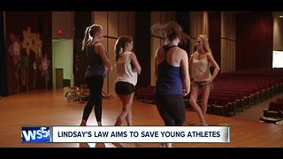 Lindsay's Law takes effect today; Lindsay Davis speaks to News 5 about it - Video