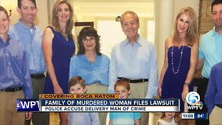 Family of murdered woman files lawsuit