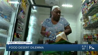 Food deserts in Green Country