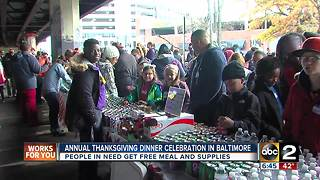 Local Veterans get a Thanksgiving meal for the holidays - Video