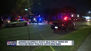 Suspect dies after officer-involved shooting on Detroit's west side