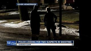 Sheboygan Police search for 2 suspects in alley shooting