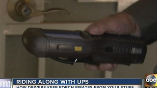 UPS taking steps to protect packages from being stolen - Video