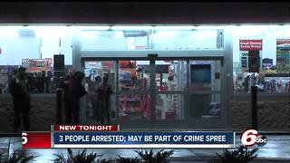 Suspects in nationwide crime spree possibly arrested in Indianapolis - Video