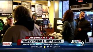 Starbucks plans to get rid of some of its craziest drinks - Video