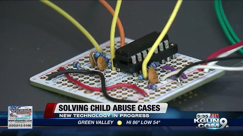 UA students work to build device to fight child abuse