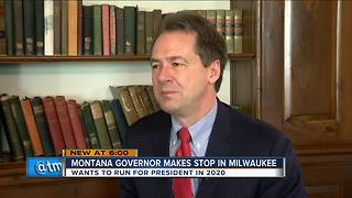 Possible 2020 presidential candidate Steve Bullock visits Milwaukee