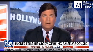 Feminist Doesn't Care If False Accusations Get Men Fired... Tucker Has A Big Problem With That - Video