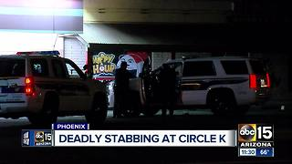 Suspect in custody after deadly stabbing in north Phoenix - Video