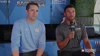 Nascar's Bubba and Elliott talk about presenting at the ACMs   Rare Country - Video