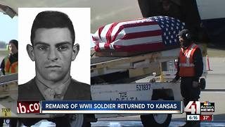 WWII Marine's remains returned to family - Video