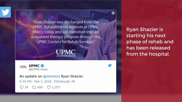 How Old Is Shazier >> Ryan Shazier Released From Hospital After Dangerous Spinal Injury