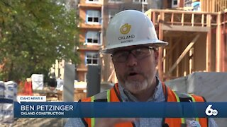 Construction continues to boom in Idaho despite a national decline