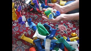File Organizer Fine-Motor Activity for Individuals with Developmental disabilities