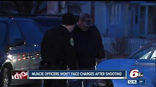 No charges to be filed against Muncie officers who shot man - Video