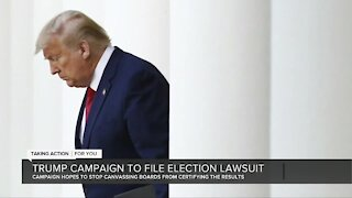 Trump campaign to file election lawsuit in Michigan