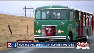 How the Sand Springs city busette came to be - Video
