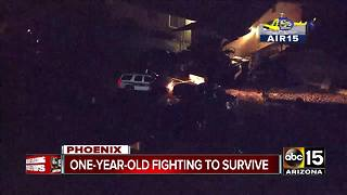 Infant taken to the hospital without a pulse in Phoenix - Video