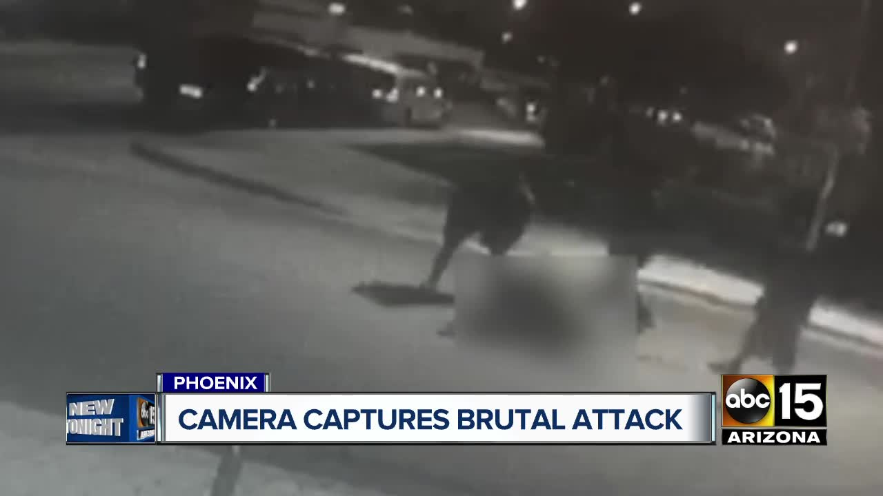 Camera captures brutal attack on 60-year-old man