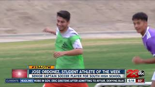 Male Athlete of the Week: Jose Ordoñez - Video