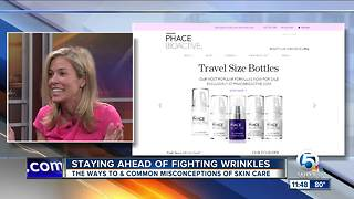 Stay ahead in fight against wrinkles - Video