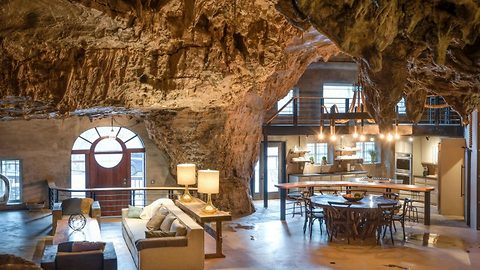 Become the ultimate James Bond villain and spend your moneypenny on this luxury cave