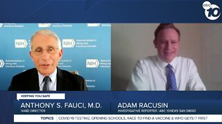 ABC 10NEWS Interview with Dr. Anthony Fauci