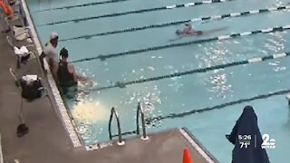 Heroes recognized for saving swimmer's life at Roger Carter Community Center