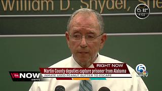 How Martin County deputies caught escaped Alabama inmate - Video