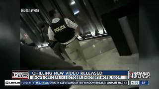 Police release body cam video from 1 October offiers - Video