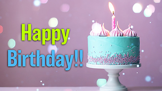 Happy Birthday Greeting Card 3 - Video