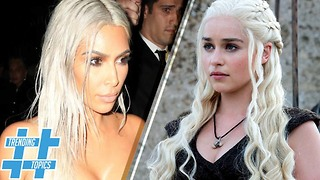 Kim Kardashian, Taylor Swift and More Celebs Pay Hair Homage to Khaleesi | HS Trending Topics