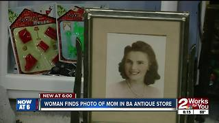 Woman finds photo of her mom - Video