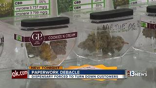 Las Vegas dispensary misses out on historic first day of sales because of paperwork snag - Video