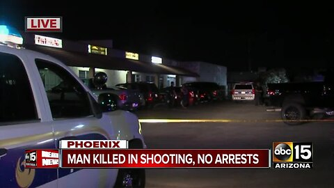 Man dies after shooting near 43rd Avenue and Camelback Road