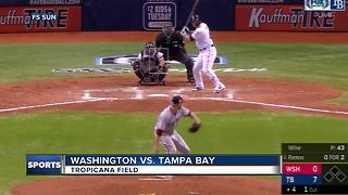 Blake Snell nears no-hitter, Kevin Kiermaier hits grand slam as Rays top Nationals - Video