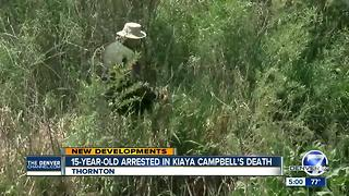15-year-old arrested in Kiaya Campbell's killing - Video