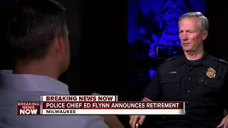 Milwaukee Police Chief Ed Flynn reflects on politics in police - Video