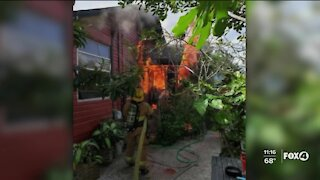 Family looking for help after losing home in a fire