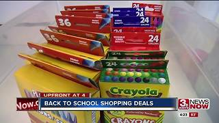 Back to school: Shopping deals - Video