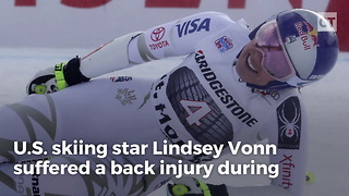 Skiier Lindsey Vonn Hurts Herself After Bashing Trump - Video