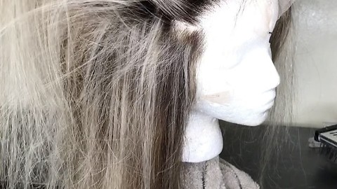 Hair Stylist Shows Off Some Incredible Wig Making Talent