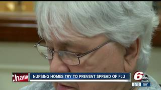 Nearly 100 Indiana nursing homes have had flu outbreaks this season