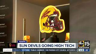 It's football time for the Sun Devils - and they're going high-tech! - Video