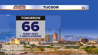 Chief Meteorologist Erin Christiansen's KGUN 9 Forecast Thursday, December 14, 2017 - Video