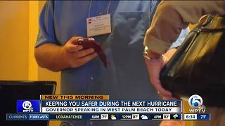 Gov. Scott to speak at hurricane conference in West Palm Beach - Video